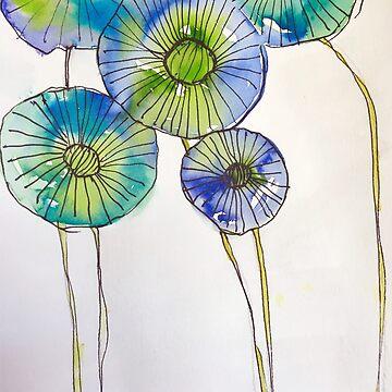 Flowers in Linea  by kaycam