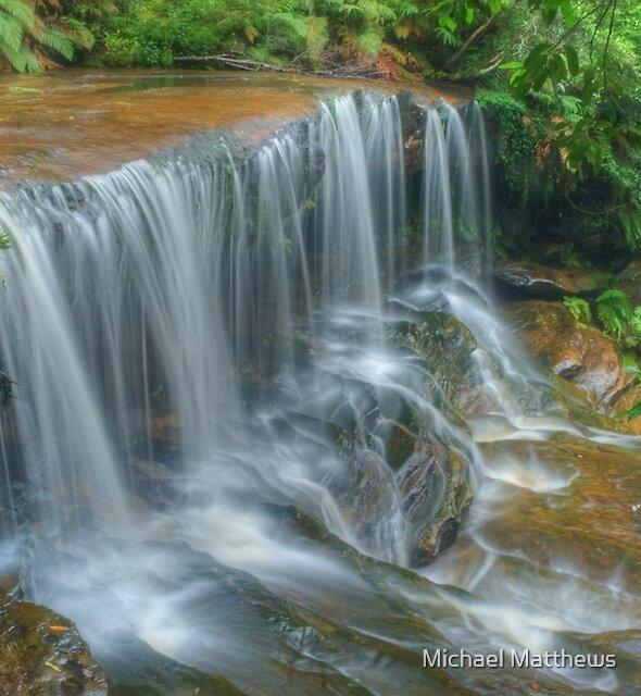 Lower Somersby Falls by Michael Matthews