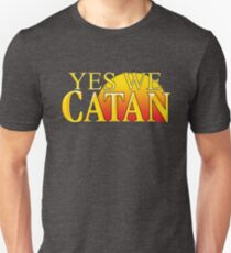 YES WE CATAN - Settlers of Catan T-Shirt