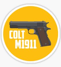 Colt 1911 Sticker