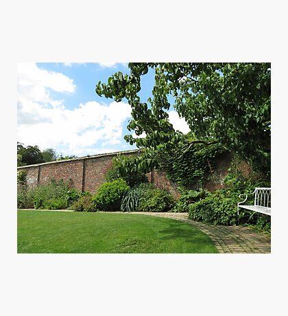 Der ummauerte Garten - Verlorene Gärten von Heligan Fotodruck