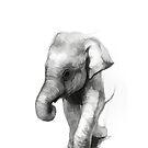 Baby Elefant von Marlene Watson