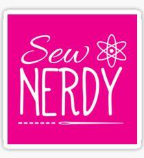 Sew Nerdy Sticker