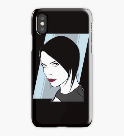 Female Spy Assassin  iPhone Case