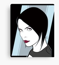 Female Spy Assassin  Canvas Print