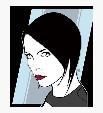Female Spy Assassin  Photographic Print
