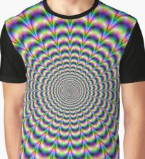 Psychedelic Pulse Graphic T-Shirt