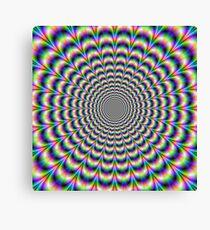 Psychedelic Pulse Canvas Print