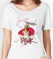 pink-beautiful trauma P!NK Women's Relaxed Fit T-Shirt