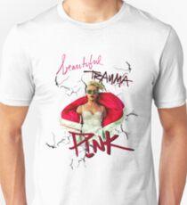 pink-beautiful trauma P!NK T-Shirt