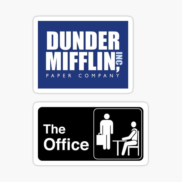 Le pack d'autocollants Office Sticker