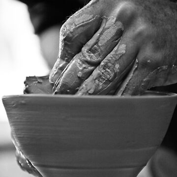 The potter's hands by rfbfmike