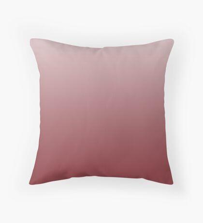 Intense Red Dahlia ombre Throw Pillow