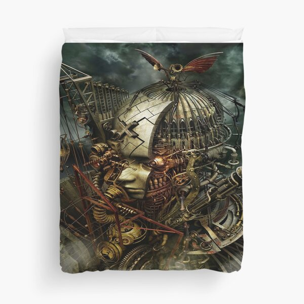 SteamPunk Surreal Duvet Cover