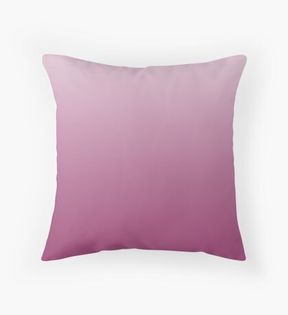 Bold Baton Rouge red ombre Throw Pillow