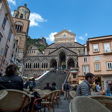 Amalfi Cathedral by MarylouBadeaux