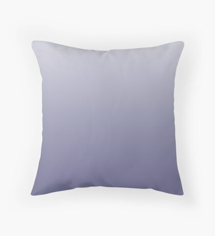 Bright Twilight Purple ombre Throw Pillow