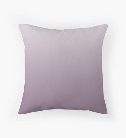 Creamy Grapeade purple ombre Throw Pillow