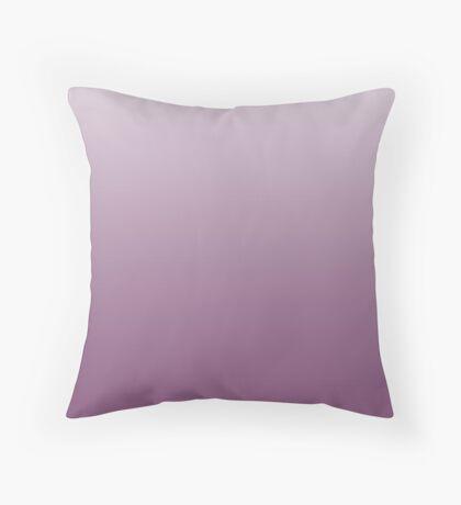 Vibrant Amethyst purple ombre Throw Pillow