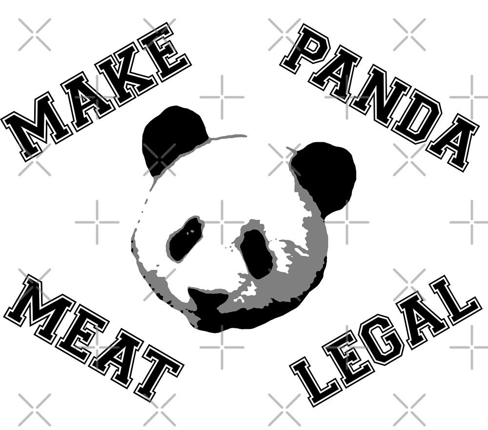 Make Panda Meat Legal by WhoIsJohnMalt