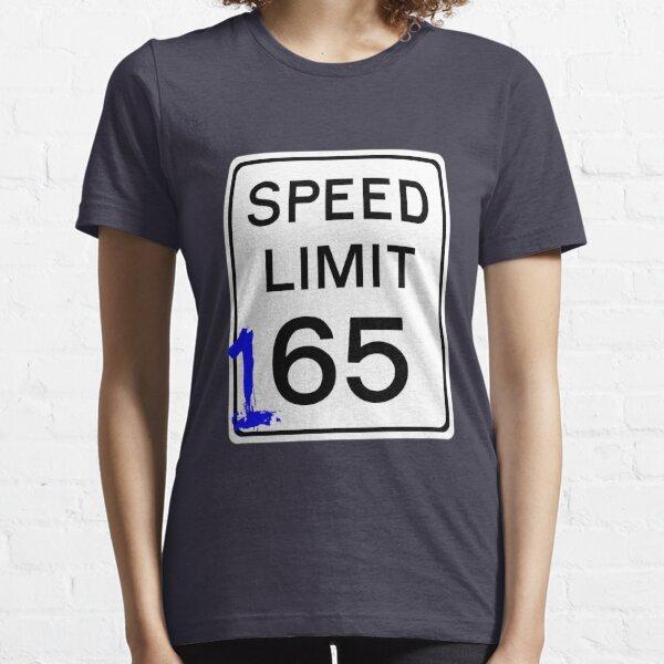 Street racing 165mph sign Essential T-Shirt