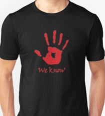 We Know Online Game T-Shirt