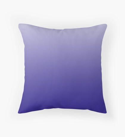 Rich Reflex Blue ombre Throw Pillow