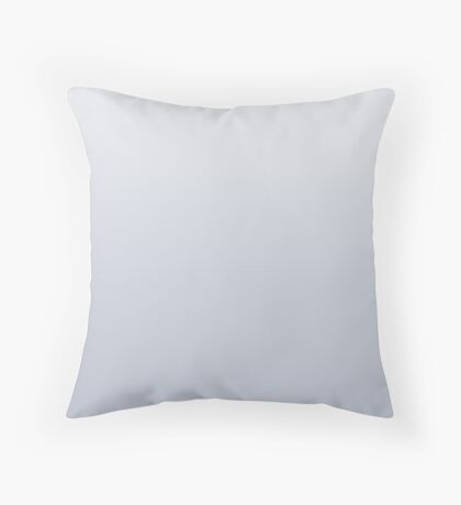Dusty Gray Dawn ombre Throw Pillow