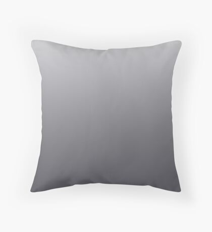 Dark Periscope grey ombre Throw Pillow