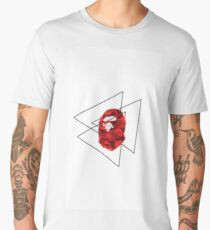 Bape | red camo Men's Premium T-Shirt