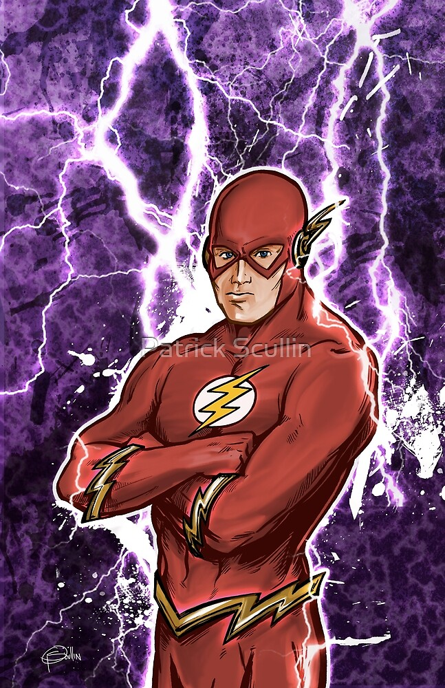 Fastest Man Alive by Patrick Scullin