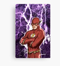 Fastest Man Alive Canvas Print