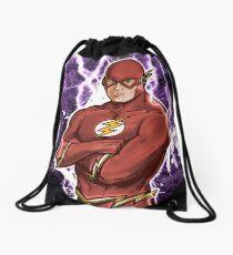 Fastest Man Alive Drawstring Bag