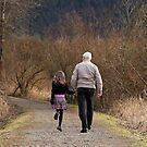 Walk with Grandpa by Tracy Friesen