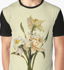 Double Narcissi In A Bouquet Isolated Graphic T-Shirt