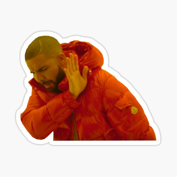 Canard Sticker
