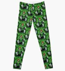 Green Super Hero Leggings