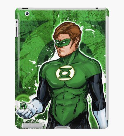 Green Super Hero iPad Case/Skin