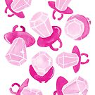 Ring Pop Pink Sparkle by makemerriness