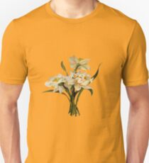 Double Narcissi Bouquet Vector T-Shirt
