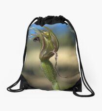 Wilted Tentaculata Drawstring Bag