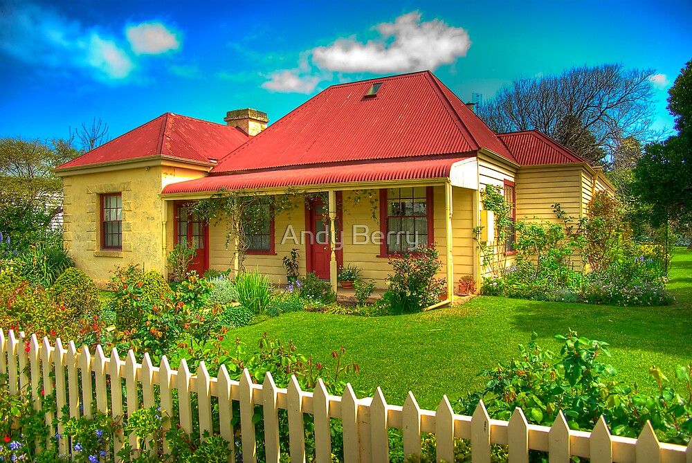 Whalers' cottage, Port Fairy, Victoria by Andy Berry