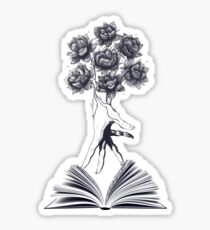 Power of knowledge Sticker