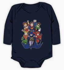 Super Heroes  One Piece - Long Sleeve