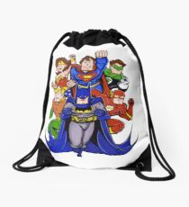 Super Heroes  Drawstring Bag