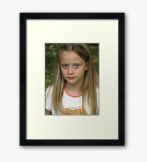 Sheer Beauty Framed Print