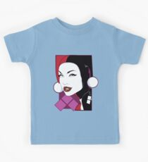 Female Super Villain Kids Tee