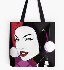 Female Super Villain Tote Bag