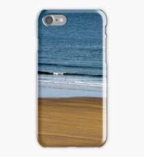 Walks on the beach iPhone Case/Skin