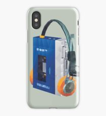 Sony Walkman TPS-L2 with MDR-5A Headphone Polygon Art iPhone Case/Skin